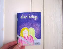 Picture of cover of Alien Beings zine