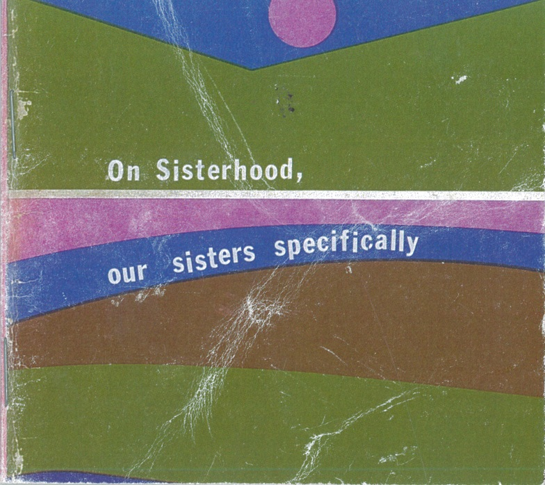 Cover Image for On Sisterhood, Our Sisters Specifically