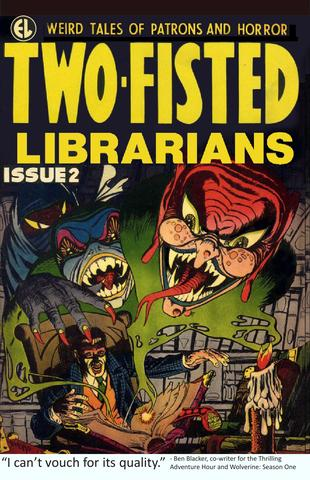Cover image for Two Fisted Librarians #2