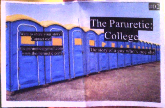 The Paruretic: College Cover