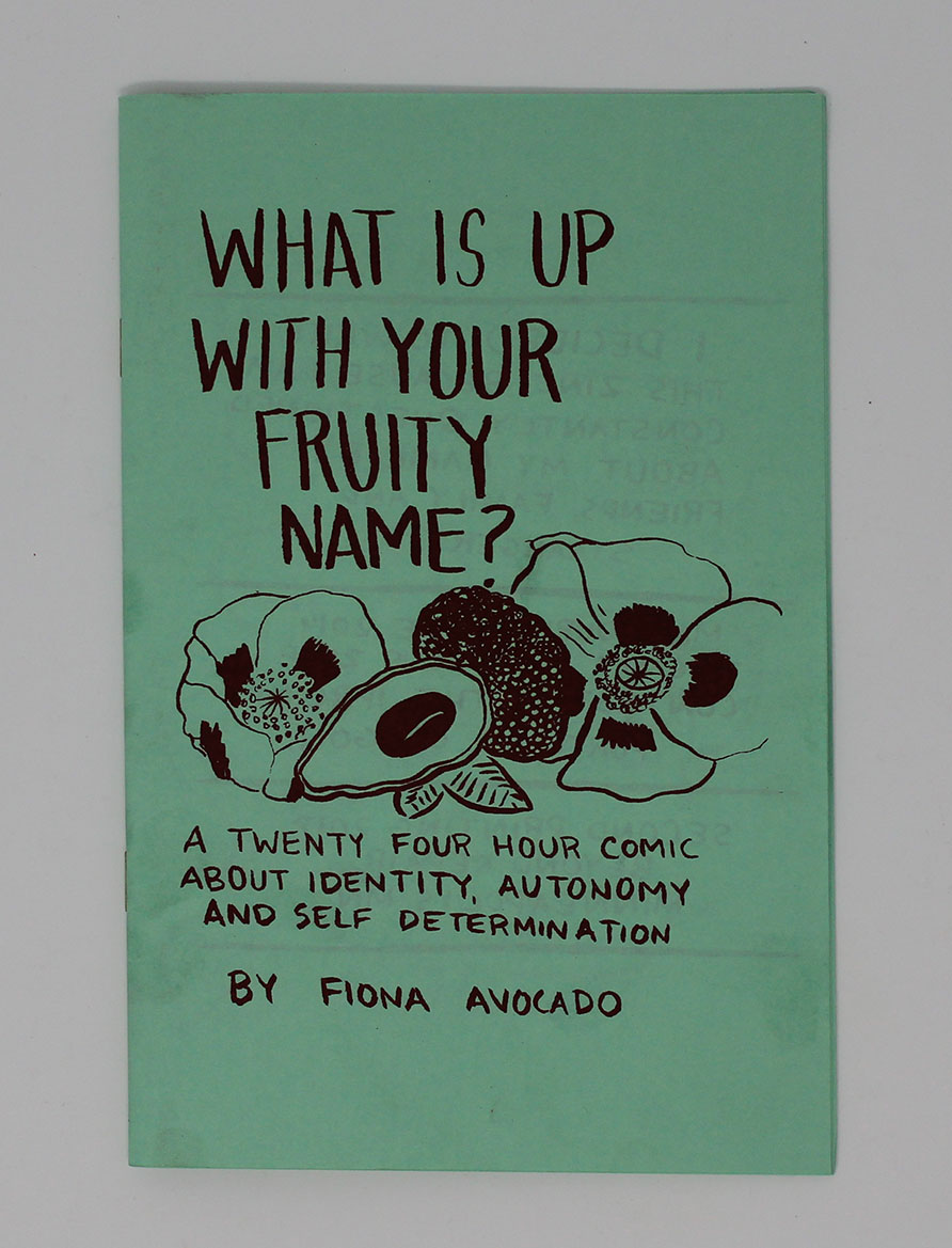 Cover of What is up with your fruity name