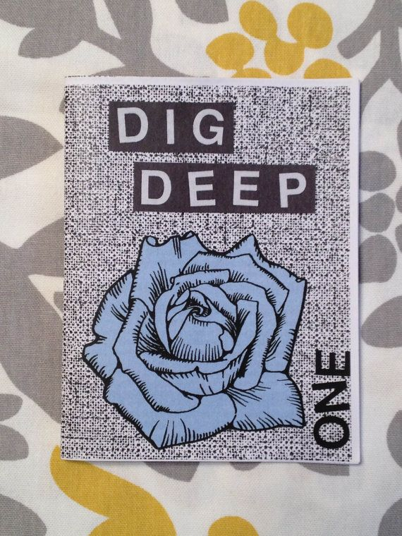 Cover of Dig Deep zine