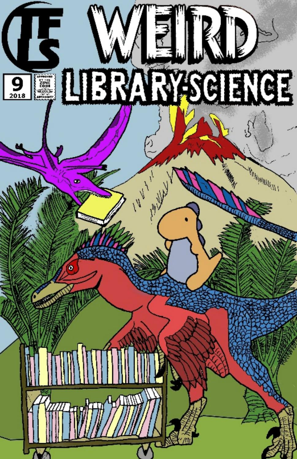 Cover of Two-Fisted Library Stories #9: Weird Library-Science