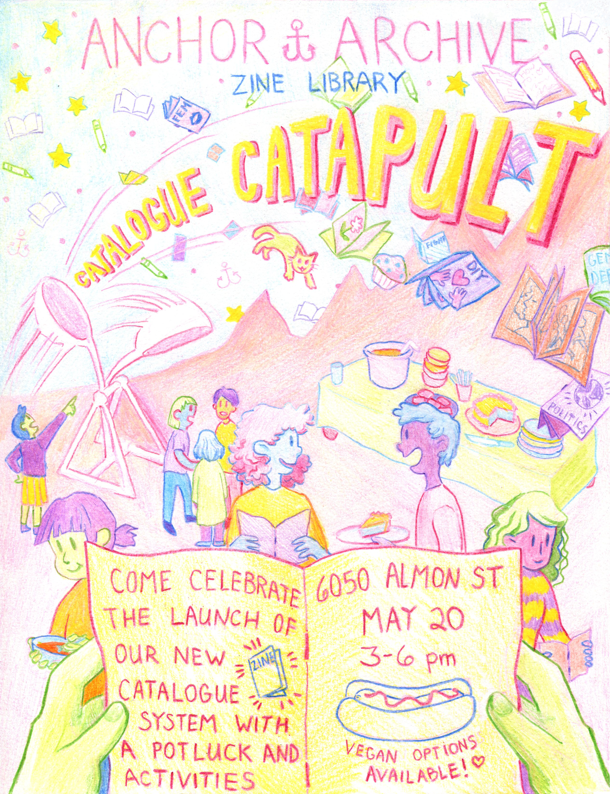 Catalogue Catapult poster